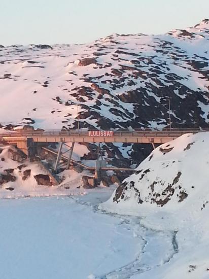 "Ilulissat au Groenlant 69°13"" latitude nord."
