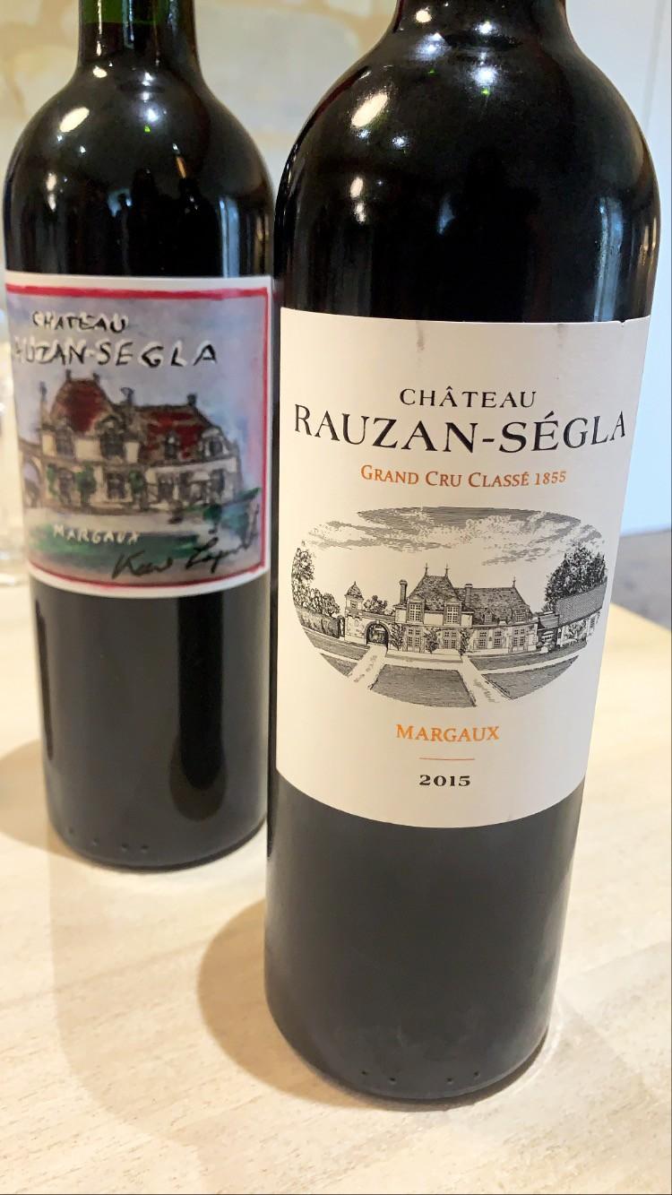 Vins de Rauzan-Ségla 2009 et 2015