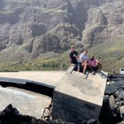 Au milieu des cratères du volcan Fogo