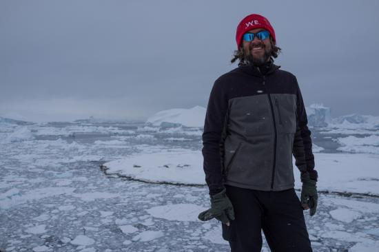 Nicolas notre guide polaire.