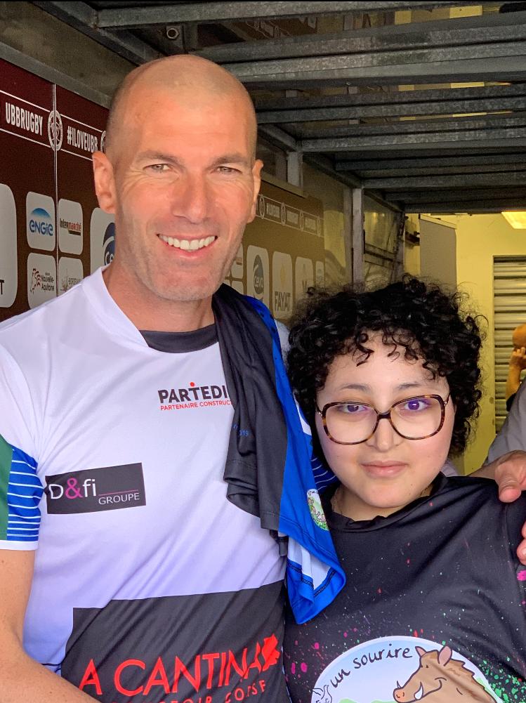 Ines et Zidane