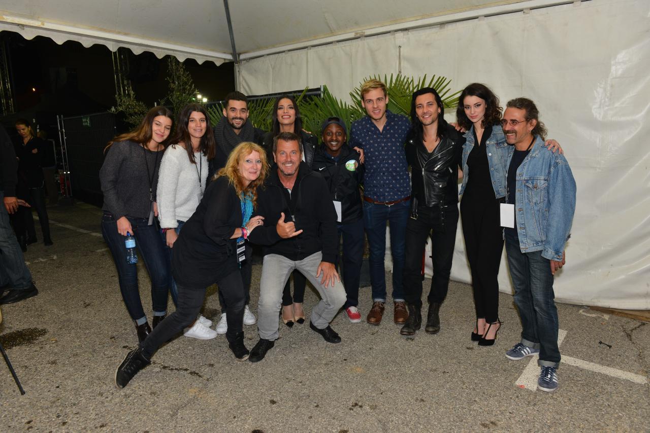 La troupe avec BB, Francky, Alex, Christelle, Marion et Pascal