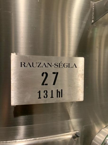Lot de cuve Rauzan-Ségla
