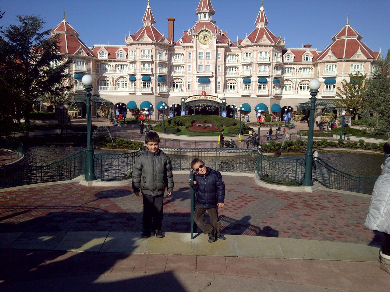 Séjour à Disneyland Octobre 2011