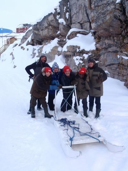 L'équipe polaire.
