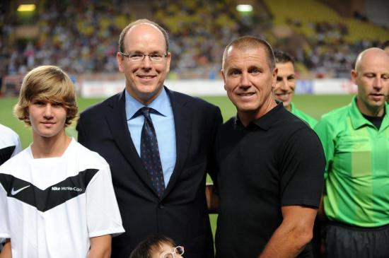 Pascal et SAS Albert de Monaco